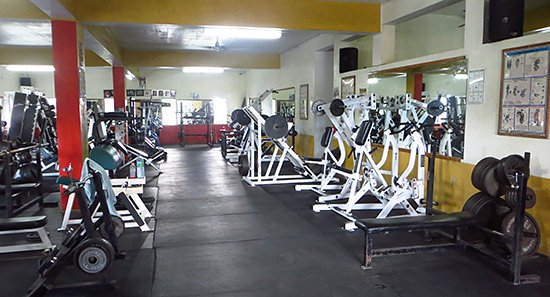 main gym room at dungeon gym