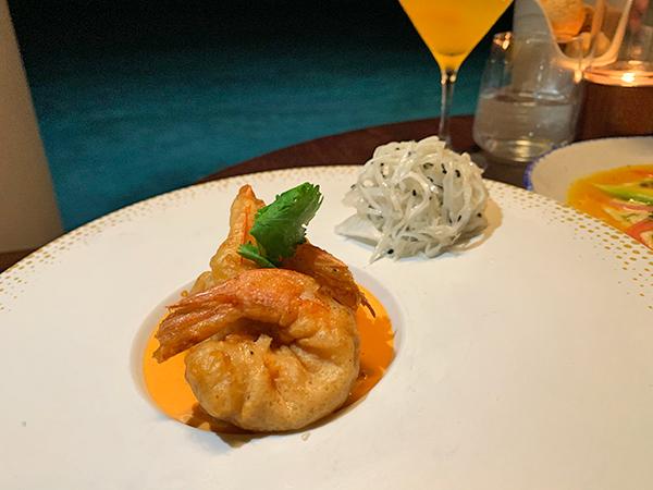 shrimp at capjuluca