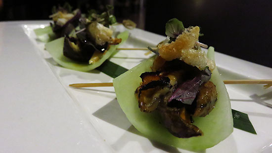 eel taco at tokyo bay