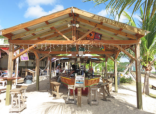 elvis bar on the beach in anguilla