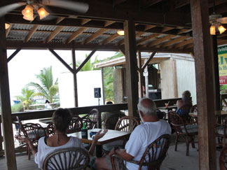Anguilla Nightlife, Elvis Beach Bar, Sandy Ground