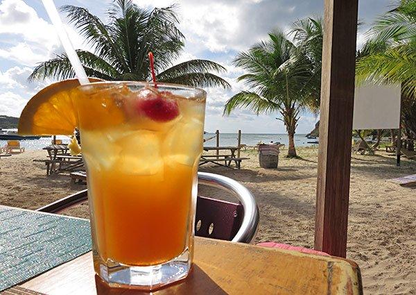 elvis famous rum punch