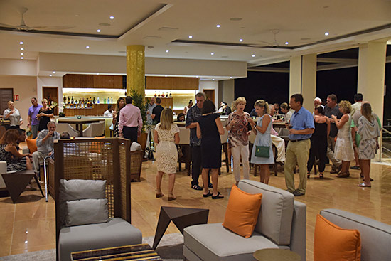 epicurea cocktail party at the reef anguilla