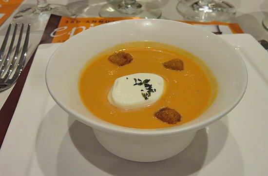 soupe de tomate de la serre at epicurea