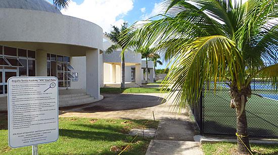 tennis courts at anguilla tennis academy