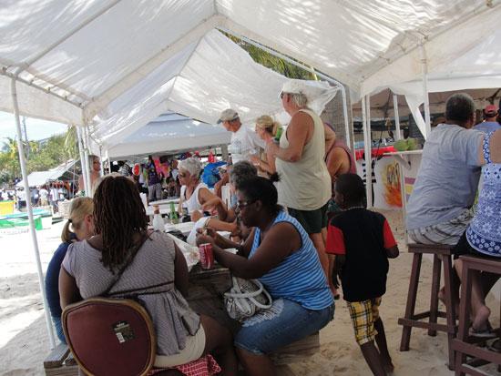 Festival del Mar, Anguilla tents