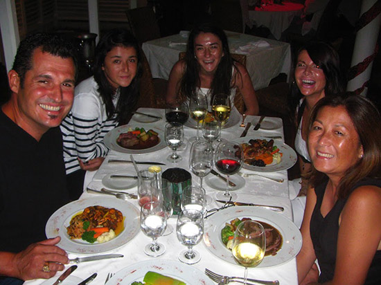 first christmas dinner in anguilla