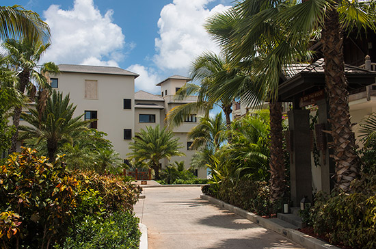 first rooms and suites building at zemi beach house