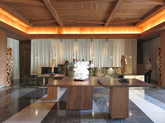 the front desk at four seasons anguilla