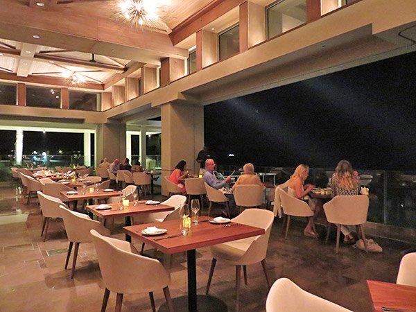 four seasons dining room at coba