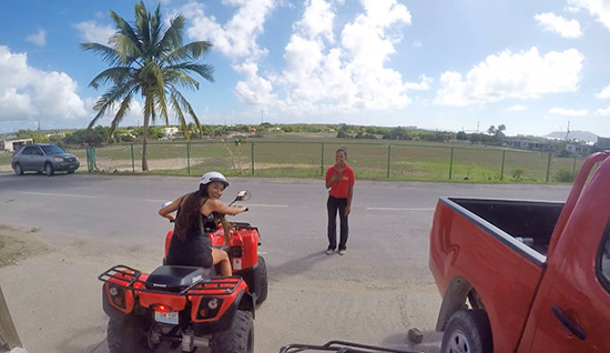 ready to hit the open road on the atv rental in anguilla