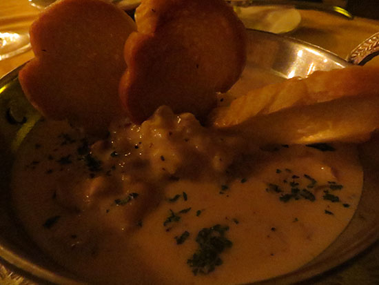chowder at frenchmans