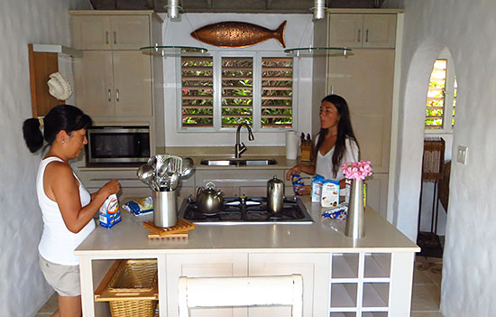 kitchen at frenchmans cay resort