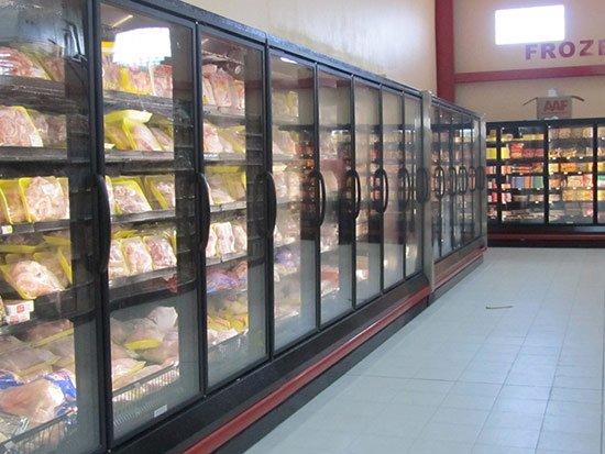 meat fridges