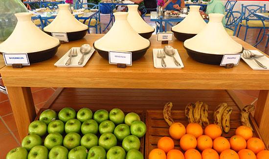 fresh fruits at cuisinart