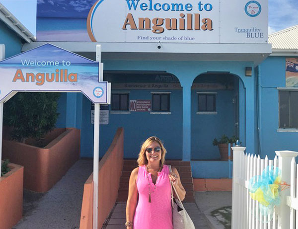 garner family arriving in anguilla