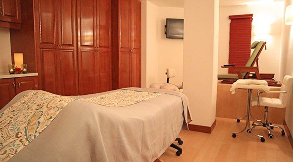 spa by cuisinart gentlemens treatment room