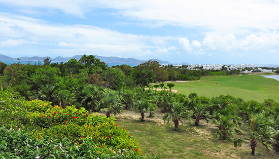 greg norman designed cuisinart golf course in anguilla