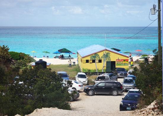 the road to gwens beach bar