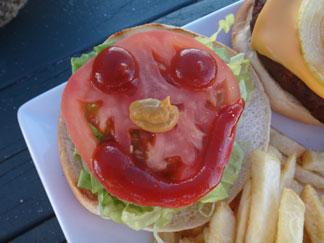 the burger at gwens