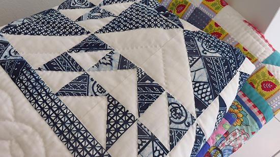handmade anguilla quits