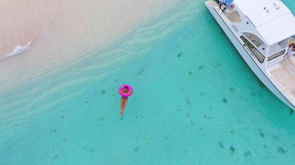 relaxing in anguilla