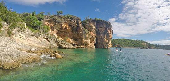 amazing cliffs at little bay