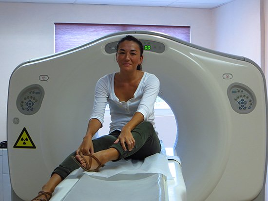 hughes medical center anguilla CT scan