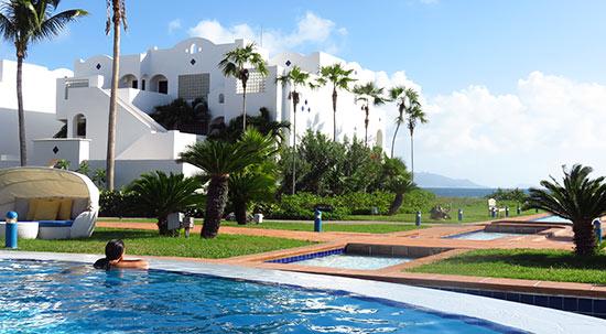 the main pool at cuisinart golf resort spa