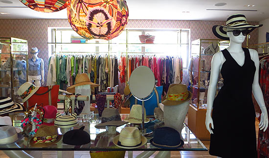 inside the boutique at viceroy