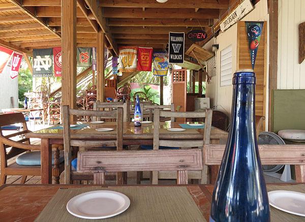 inside the restaurant at elvis