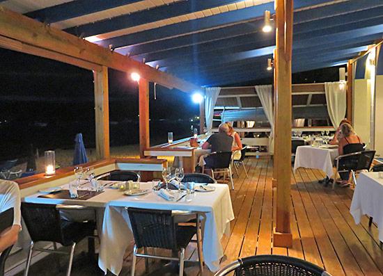 inside la villa restaurant anguilla
