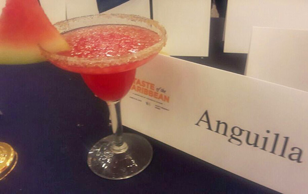 jamals watermelon cocktail at taste of the caribbean