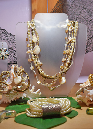jewelry set sea spray