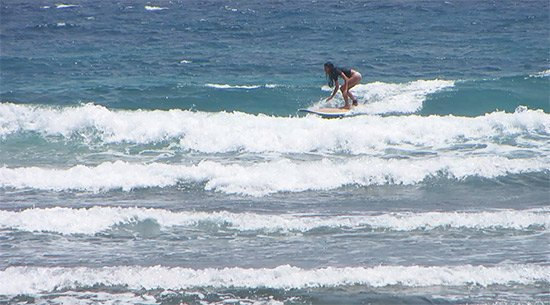 catching a wave in jobos