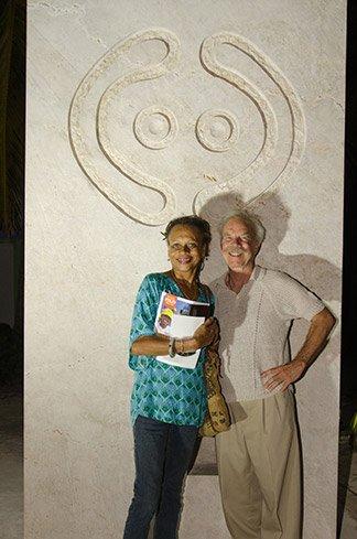 jon b hudson sculpture in anguilla
