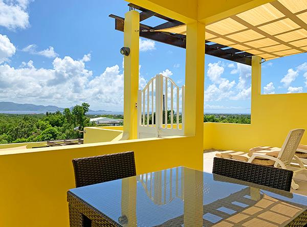 junior suite terrace view
