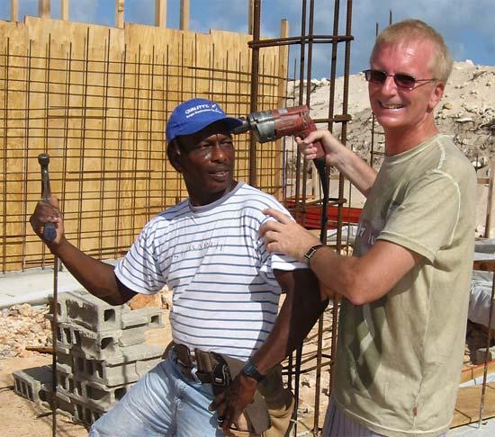 Anguilla builders Ken and Jim 2