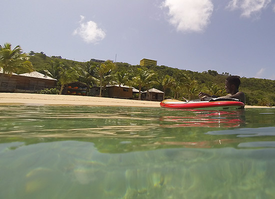 back in crocus bay anguilla