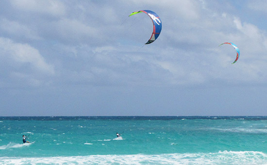 anguilla kitesurfing with friends
