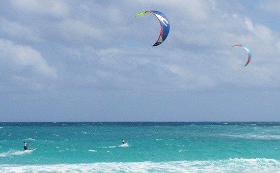 anguilla kitesurfing with friends