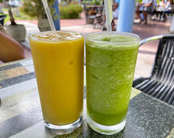 Summer Dream & Lemon Breeze at Top Carrot
