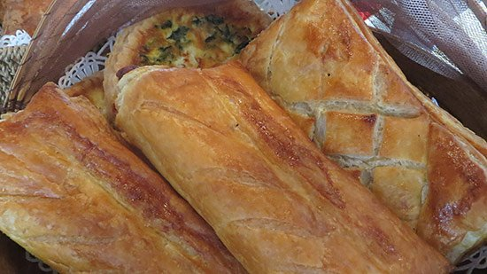 savory breakfast at l'esplande