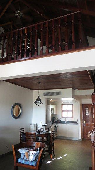 loft suite at l'esplanade in grand case