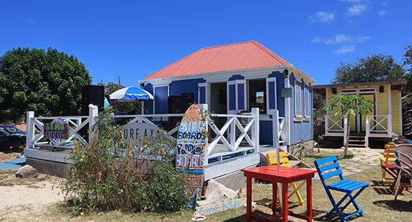 Anguilla beaches, Island Harbour, lime keel house