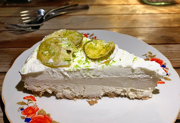 Key Lime Pie Dessert