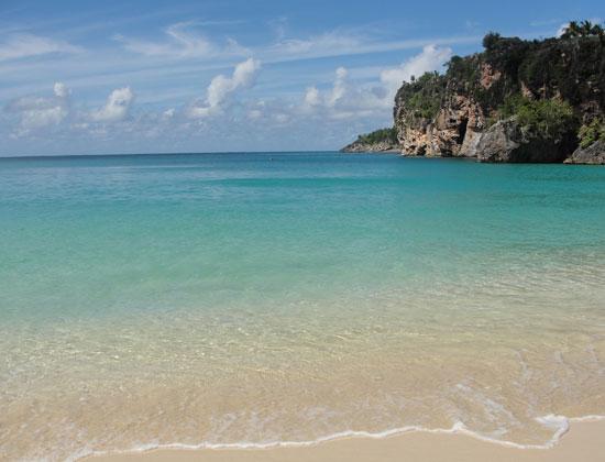 Anguilla beaches, Little Bay, the beach