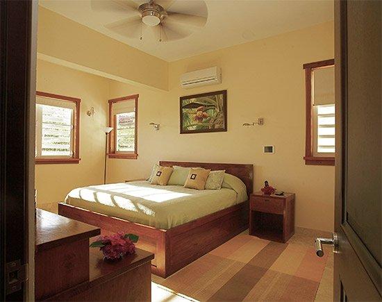 bedroom inside little butterfly