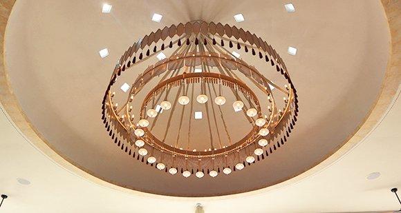 Belmond cap juluca lobby chandelier