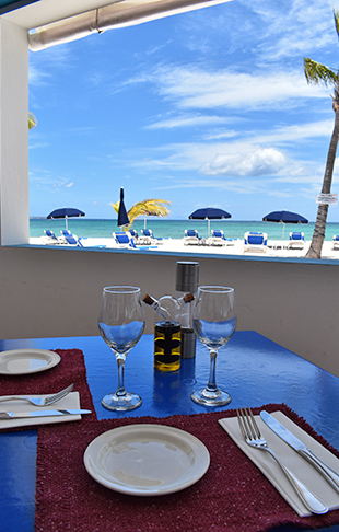 lunch at Trattoria Tramonto